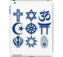 World Religions iPad Case/Skin