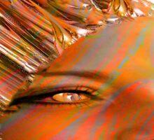 Crystal Eyes Sticker