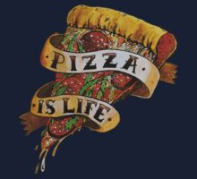 Pizza is Life Kids Tee