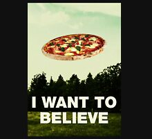 i want to believe in pizza Women's Tank Top