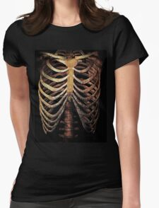 RIB CAGE TEE Womens Fitted T-Shirt