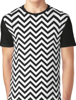 Black Lodge Chevron Floor Pattern Graphic T-Shirt