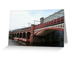 Underneath the Manchester Arches Greeting Card