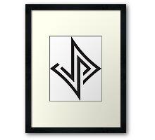 Jabari Parker 12 Unofficial Logo Framed Print