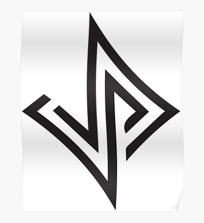 Jabari Parker 12 Unofficial Logo Poster