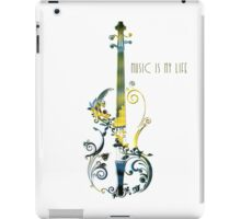 Music Is My Life iPad Case/Skin