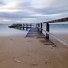 Shelley Beach Pier, Portsea by susanzentay