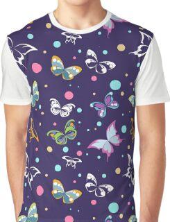 pattern of butterflies Graphic T-Shirt