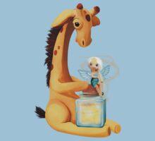 Fairy and Giraffe  Baby Tee