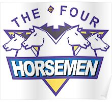 The Four Horsemen Ric Flair 4 Arn Anderson Tully Blanchard Ole Anderson Poster