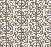Anchor Pattern Sticker