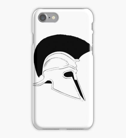 Greek helmet iPhone Case/Skin