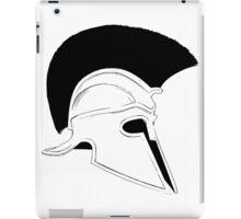 Greek helmet iPad Case/Skin