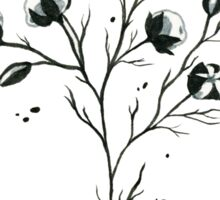 Cotton ink drawing  Sticker