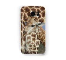 Mum and Bub Giraffes Samsung Galaxy Case/Skin