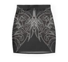 Tribal Butterly 4 Mini Skirt
