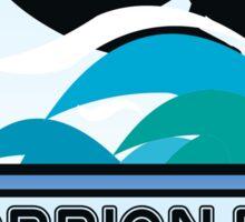 Surf Surfing SCORPION BAY MEXICO Surf Surfer Surfboard Waves Ocean Beach Vacation Stickers Sticker