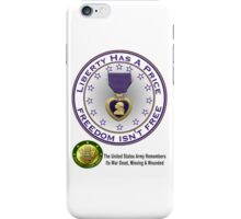 Army Remembers (light colors) iPhone Case/Skin