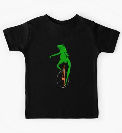 Dat Boi Unicycle Frog T-Shirt Kids Tee