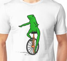Dat Boi Unicycle Frog T-Shirt Unisex T-Shirt