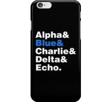Raptor Squad Helvetica iPhone Case/Skin