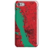 Liverpool Map iPhone Case/Skin