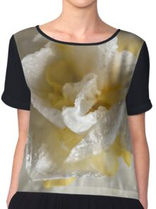 Rainy Day Daffodil Chiffon Top