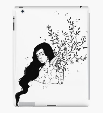 Crystal Growth Ink Drawing iPad Case/Skin