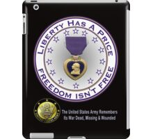 Army Remembers (dark colors) iPad Case/Skin