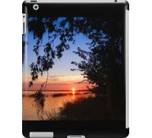 Florida sunset iPad Case/Skin