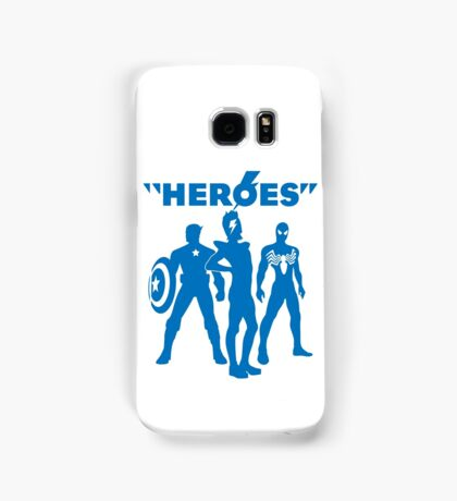 heroes: bowie and his super friends Samsung Galaxy Case/Skin