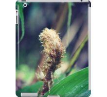 Unfolding fern iPad Case/Skin