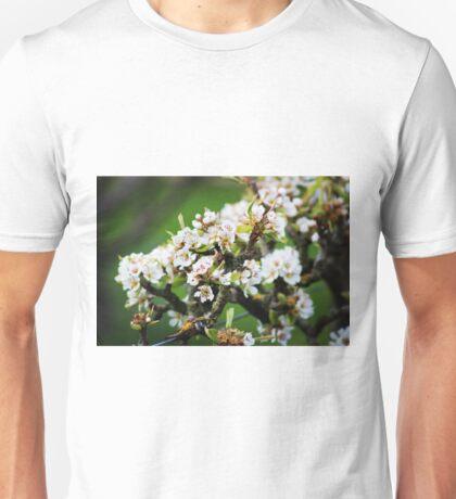 White Apple blossom Unisex T-Shirt