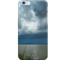 Ominous Clouds Approach iPhone Case/Skin