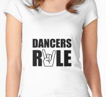 Dancers Rule Women's Fitted Scoop T-Shirt