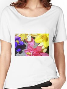 Colorful Columbines Women's Relaxed Fit T-Shirt