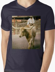 Cattle Drive 2 Mens V-Neck T-Shirt