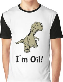 Dino Oil Graphic T-Shirt