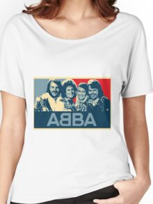 ABBA.  Women's Relaxed Fit T-Shirt