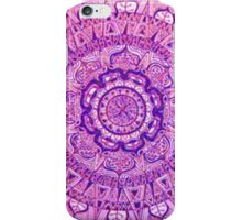 Circular Purple Mandala iPhone Case/Skin