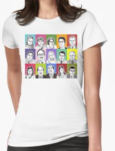 The Office Cast Womens Fitted T-Shirt