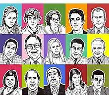 The Office Cast Photographic Print