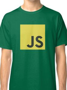 Javascript js stickers and shirts Classic T-Shirt