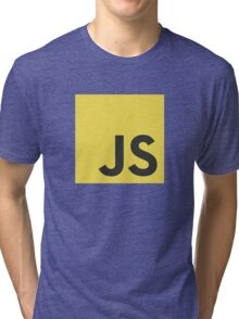Javascript js stickers and shirts Tri-blend T-Shirt