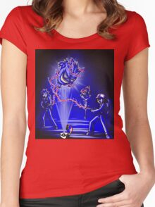 Pokebusters Women's Fitted Scoop T-Shirt