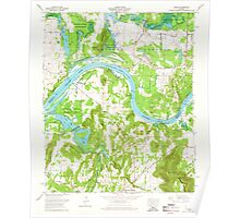 USGS TOPO Map Alabama AL Triana 305236 1964 24000 Poster