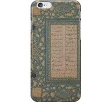 Page of Calligraphy , islamic, 2 iPhone Case/Skin