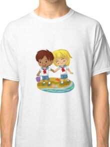 Eren and Armin in on the beach Classic T-Shirt