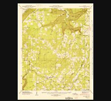 USGS TOPO Map Alabama AL Flat Rock 303839 1946 24000 Unisex T-Shirt