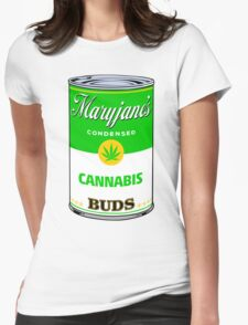 Maryjane's Condensed Cannabis Buds Womens Fitted T-Shirt